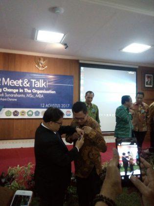 Pelantikan pengurus PMSM DPC Malang Raya.