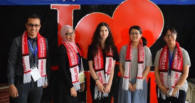 Mahasiswa Asing program Darmasiswa RI 2017Mahasiswa Asing program Darmasiswa RI 2017