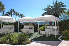 Cabanas with gas grilles - Call the concierge to reserve - charges may apply
