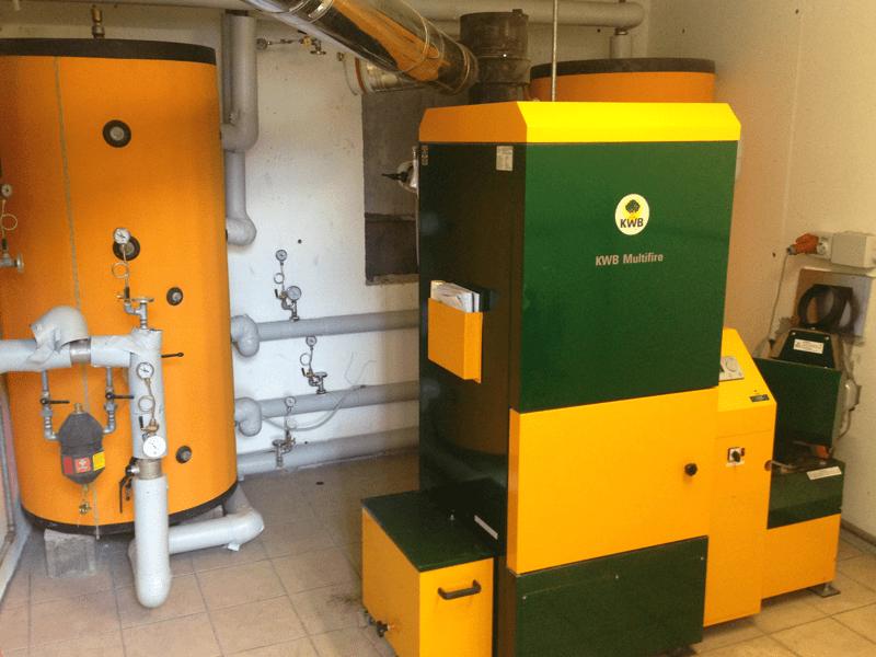 Caldaia a biomassa KWB a cippato o pellet | Green Hotel