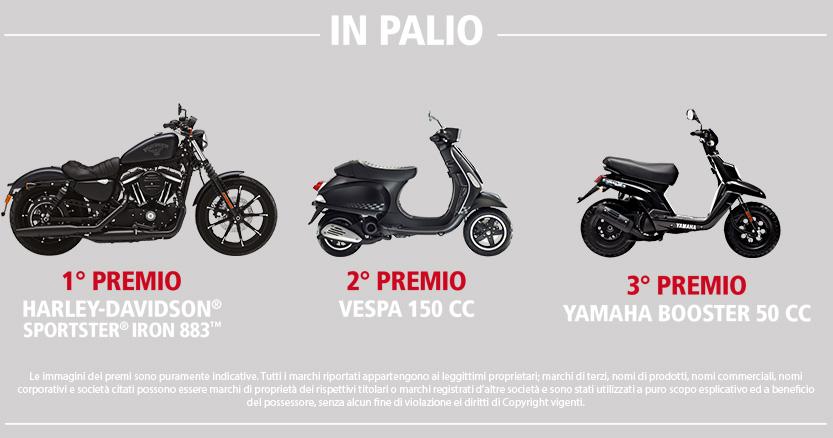 Concorso Pleion: scegli il solare termico Pleion e vinci una Harley Davidson, una Vespa o uno scooter Yamaha