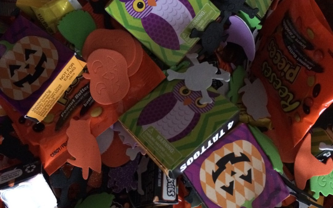 Halloween: How to handle my hate for the crappy treats