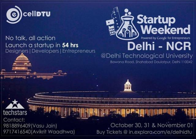 Winner @ Startup Weekend Delhi