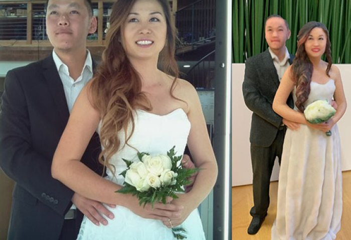 Custom 3d Printed Wedding Cake Toppers That Look Exactly Like You