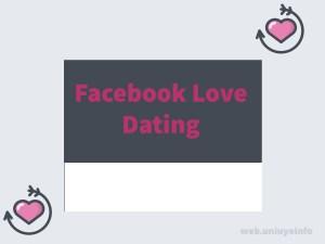 facebook arrow dating