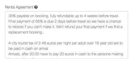Homeaway tourist tax