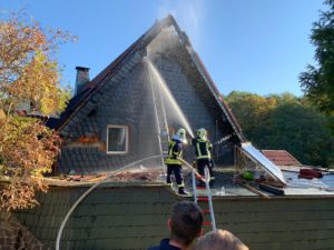 Brand Dachstuhl Starkenberg 2018