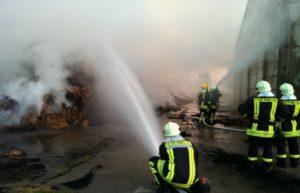 Brand Größröda Eugenschacht 2012