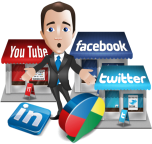 we build social accounts for businesses