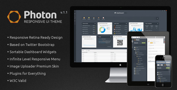 conquer responsive admin dashboard template free download