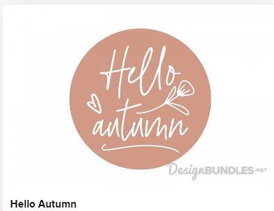 Hello Autumn Web3Canvas