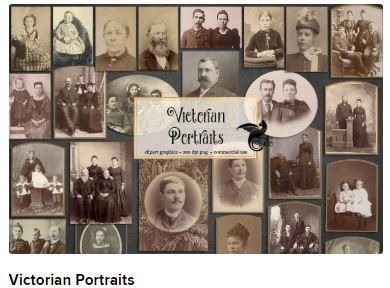 Victorian portraits Web3Canvas