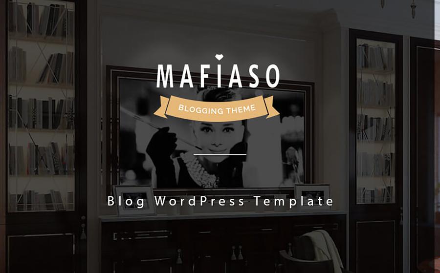 Awe-Inspiring Blog Responsive WordPress Template