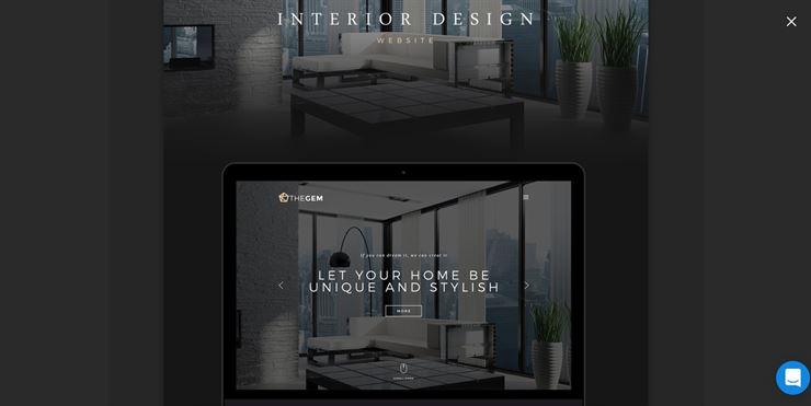 MyRoom - Elegant and Luxurious Interior Design Template Web3Canvas