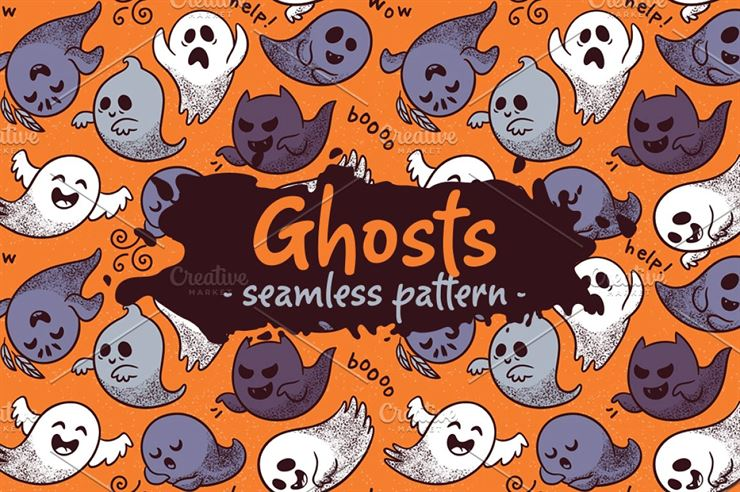 Ghosts Pattern Web3Canvas