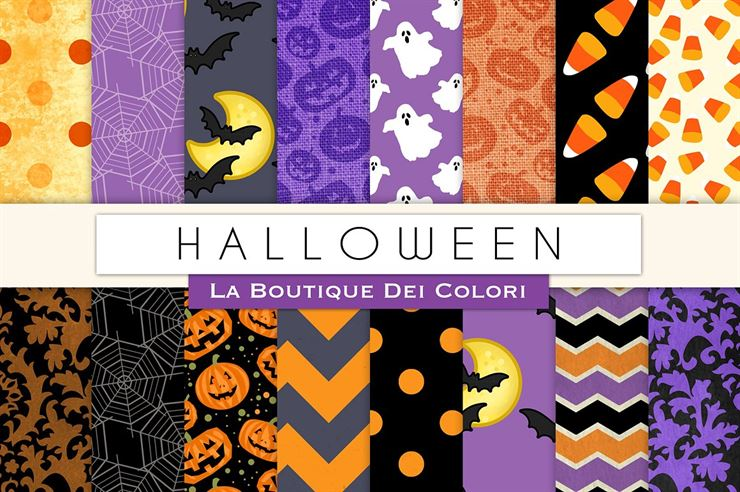 Halloween Digital Papers Web3Canvas