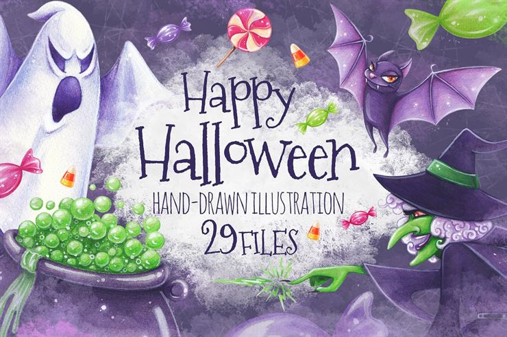 Halloween Illustrations Web3Canvas