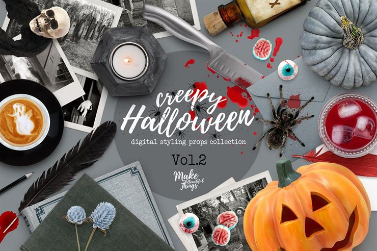 Halloween Scene Creator Web3Canvas