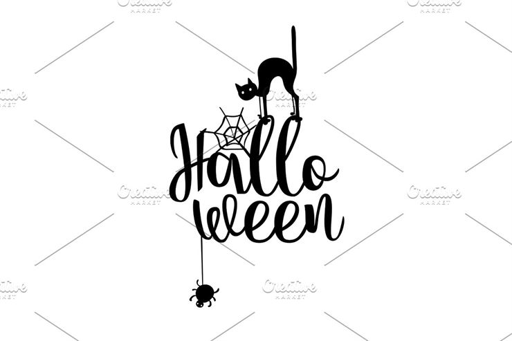 Happy Halloween Party Title Logo-2 Web3Canvas