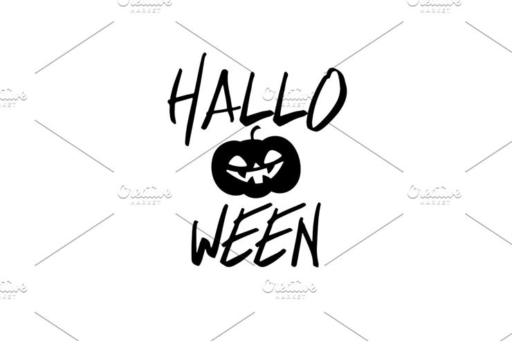 Happy Halloween Party Title Logo-3 Web3Canvas