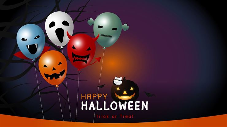 Happy halloween banner design Web3Canvas
