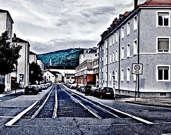 Photo - DEZERNAT 16 Zentrum für Kultur- und Kreativwirtschaft in der Alten Feuerwache Heidelberg - View to the Königstuhl