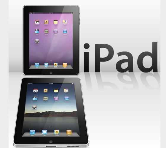 Ipad PSD Files