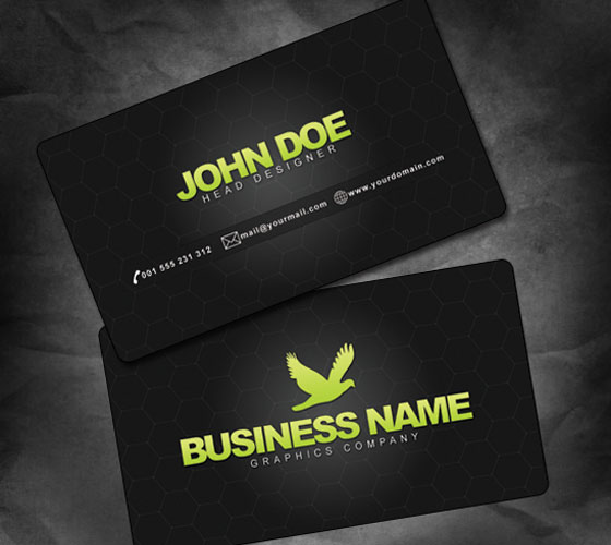 68 Best PSD Business Card Templates Free Premium Templates  Free     Psd Template Business Card Images Free Abstract Business   Business card  template psd