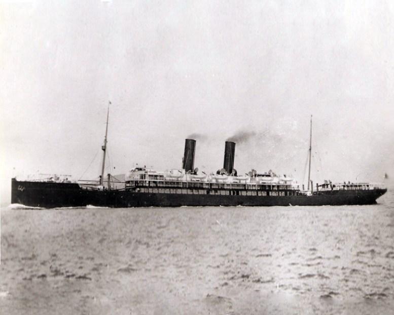 SS Siberia - London Crossed on her in 1904 to Yokahoma.jpg