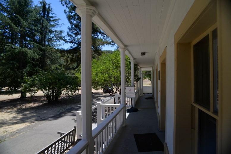 Adobe Porch