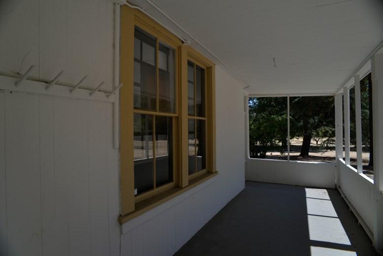 Adobe Side Porch