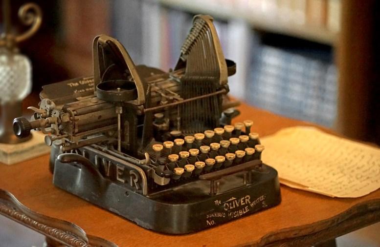 John Muir Typewriter