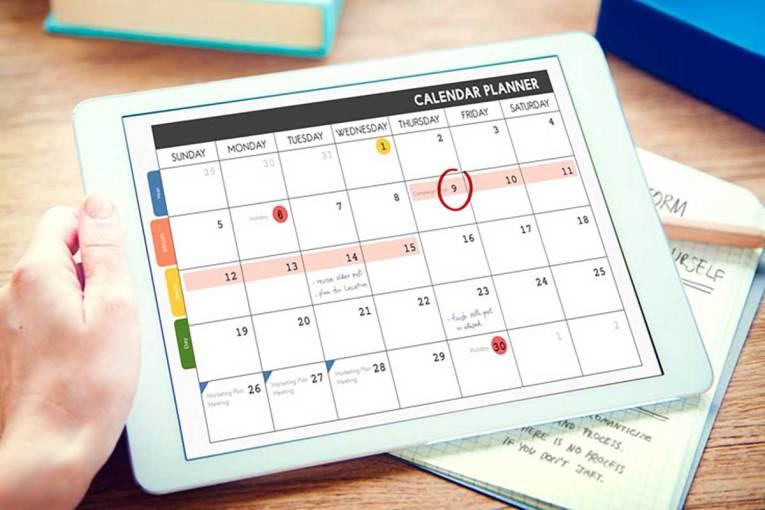 Kalendar društvenih mreža