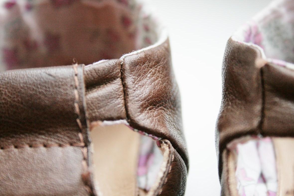 Zeigt her Eure Füße: ein bisschen zerknautscht nach 9 Wochen. Foto: Julia Marre