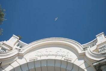 Imposantes Luxushotel: das Excelsior Palace Hotel in Rapallo. Foto: Julia Marre