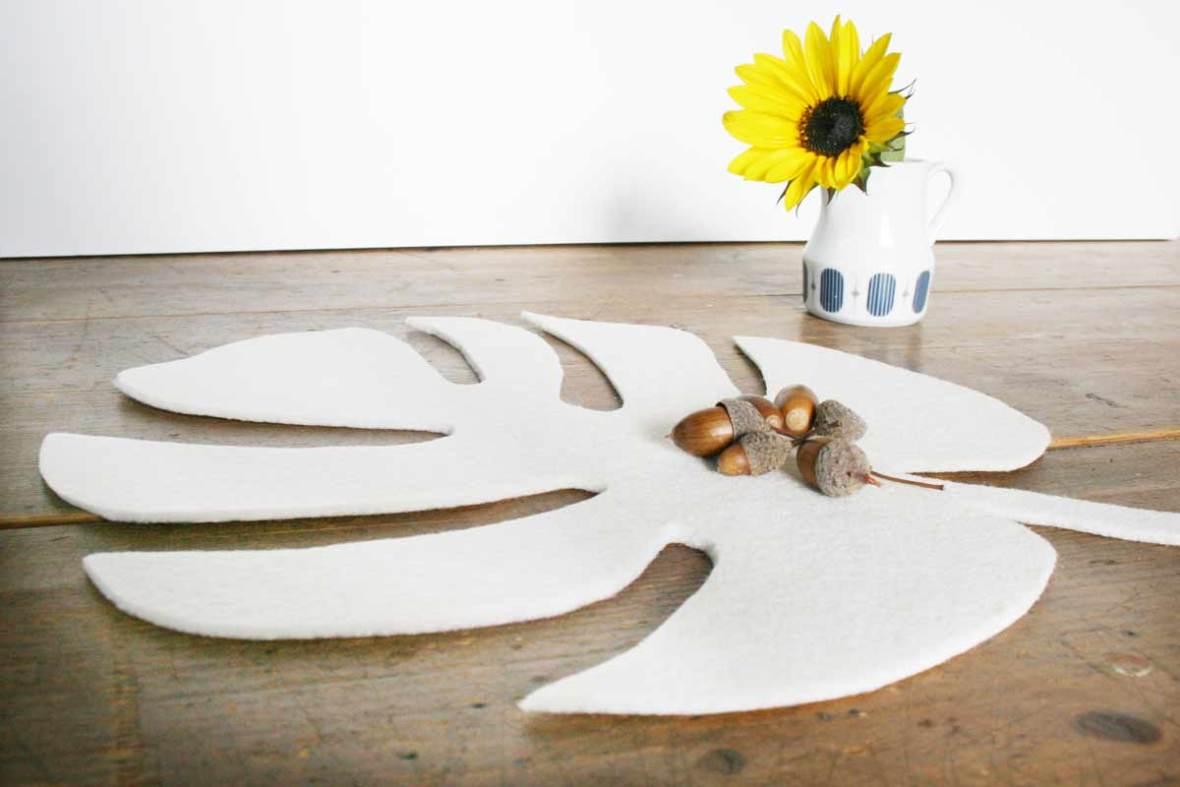 Tischset selber basteln