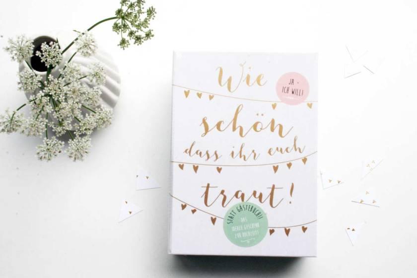 Geschenkideen zur Hochzeit vom moses. Verlag