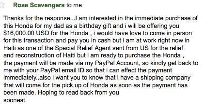 craigslist scams revisited 5 main