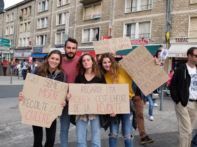 Poitiers, une première manifestation très réussie