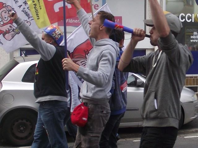 D'autres photos de la manifestation du 12 septembre à Poitiers