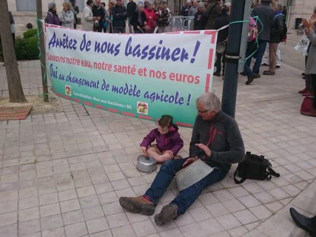 Mobilisation le 25 avril contre les projet de 43 «bassines» dans la Vienne