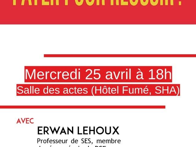 Débat à Poitiers sur « le marché du soutien scolaire » le 25 avril