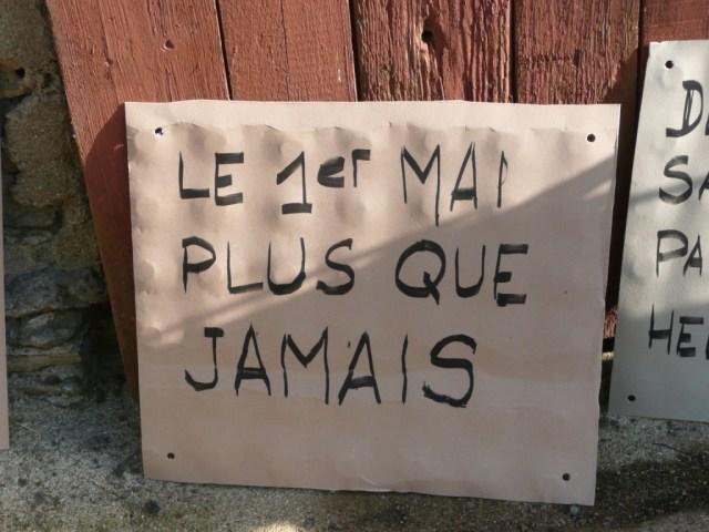 Atelier Pancartes 1er mai
