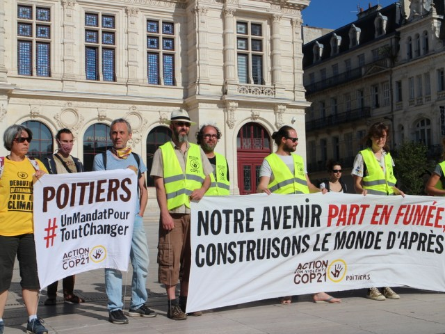 Action ANV-COP 21 Poitiers