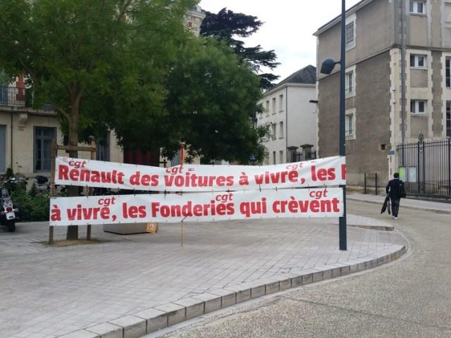 Rassemblement Fonderies du Poitou et EPHAD: la crise, c'est déjà maintenant