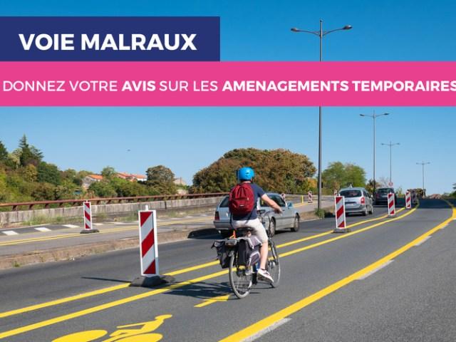 Piste cyclable sur la Pénétrante à Poitiers : donnez votre avis