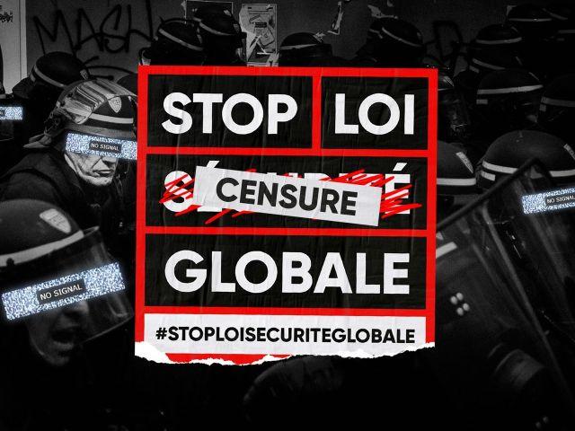 65 organisations contre la « sécurité globale » :  et vous ?