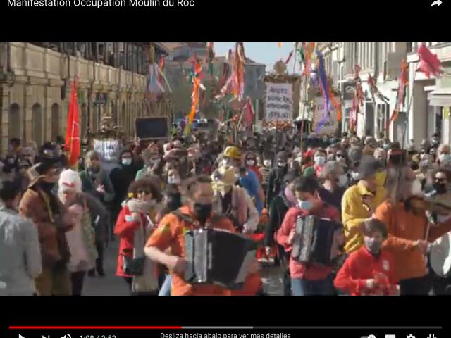 [vidéo] Grosse manifestation pour la culture à Niort