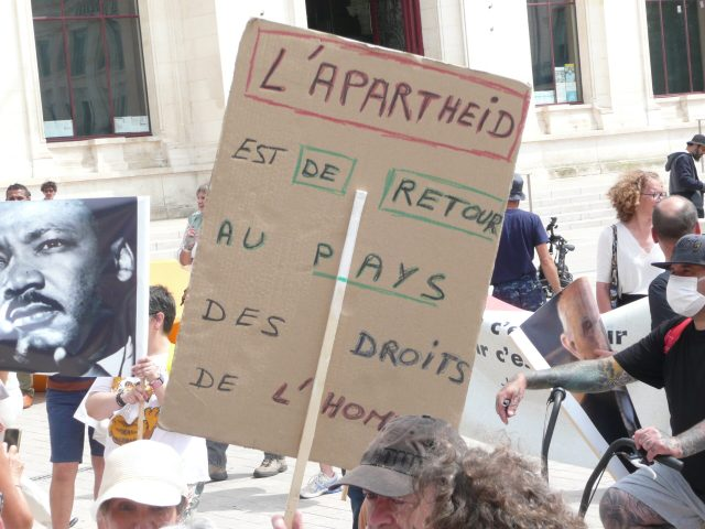 Opposition au pass sanitaire et à l'obligation vaccinale : 2nde manifestation Poitiers