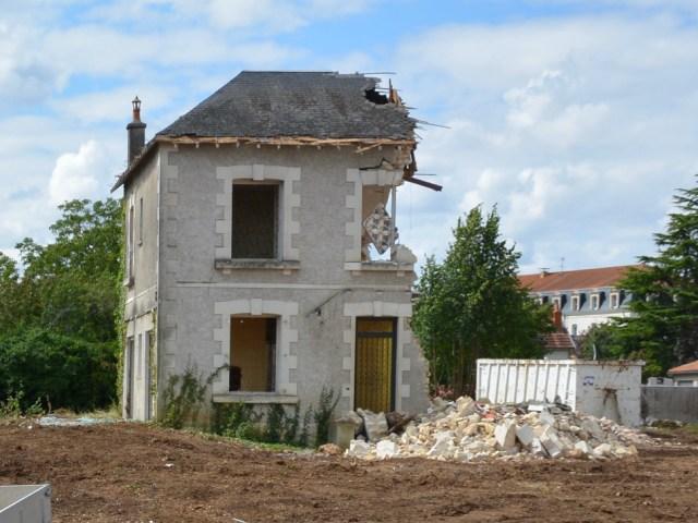 Chemin du lavoir à Poitiers, les promoteurs en embuscade…